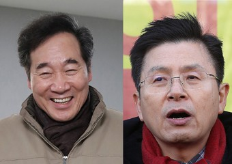 """'미니대전'..이낙연 """"미래비전"""" vs 황교안 """"정권심판론"""""""
